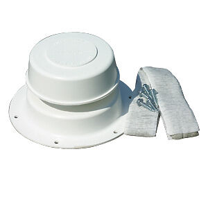 Plumbing Sewer Vent Roof Cap Amp Base Kit W Butyl Tape And