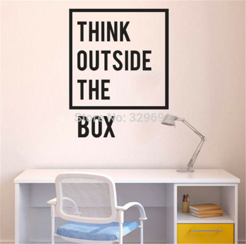 inspirational motivational quotes office wall decal home decor art