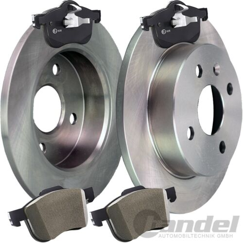 Disques de frein 313mm 2.3 MPS Turbo 2002-2007 Garnitures Arrière Mazda 6 GG GY 2.3
