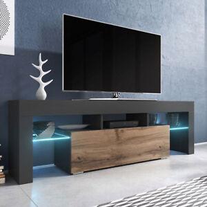 Details Zu Tv Lowboard Filsback Tv Tisch Tv Schrank Modern Design Elegante Stilvoll Led
