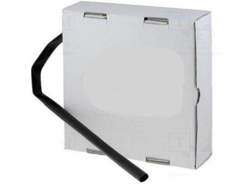 Schrumpfschlauch 3:1 negro 3,5m con adhesivo interior 6,40mm/2, 13mm