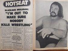 1980 Wrestling(BLACKJACK  MULLIGAN/DICK  MURDOCH/MASKED  SUPERSTAR/HARLEY  RACE)