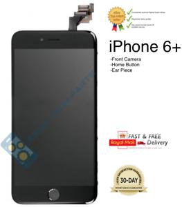 Negro-para-IPHONE-6-Plus-Ensamblado-Calidad-LCD-Digitalizador-Pantalla