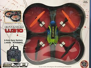 Large-27-034-Drone-2-4Ghz-4CH-With-6-Axis-Gyro-RC-Headless-Quadcopter-US-Seller