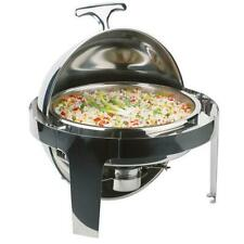 Roll Top Chafer Stainless Steel Deluxe Chafer Chafing Dish Sets 8 Qt Full Size
