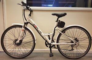 "EBike Commute 36v Electric Folding Bike 26"" White **MANUFACTURER REFURBISHED**"