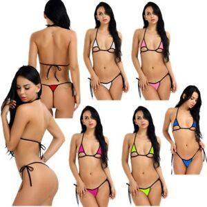 4619490a085 Women Lingerie Swimwear Micro Bikini G-String Thong Ladies Swimsuit ...