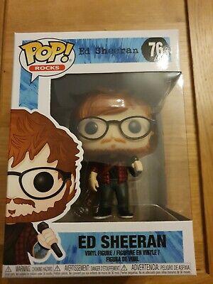 "ED SHEERAN 3.75/"" POP ROCKS VINYL FIGURE FUNKO BRAND NEW 76 UK SELLER"