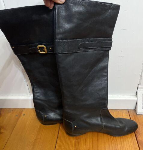 CHLOE Paddington Buckle Flat Tall Equestrian Boot