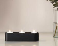 Ikea stockholm kerzenhalter kerzenständer edelstahl 3 kerzen günstig