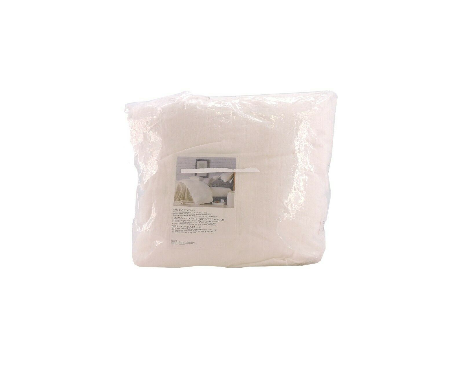 DKNYPURE(R) COMFY KING DUVET COVER IN WHITE