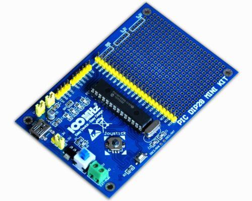 PIC Development Board for DIP28 PICs PIC18F2580 microcontrollers  Microchip