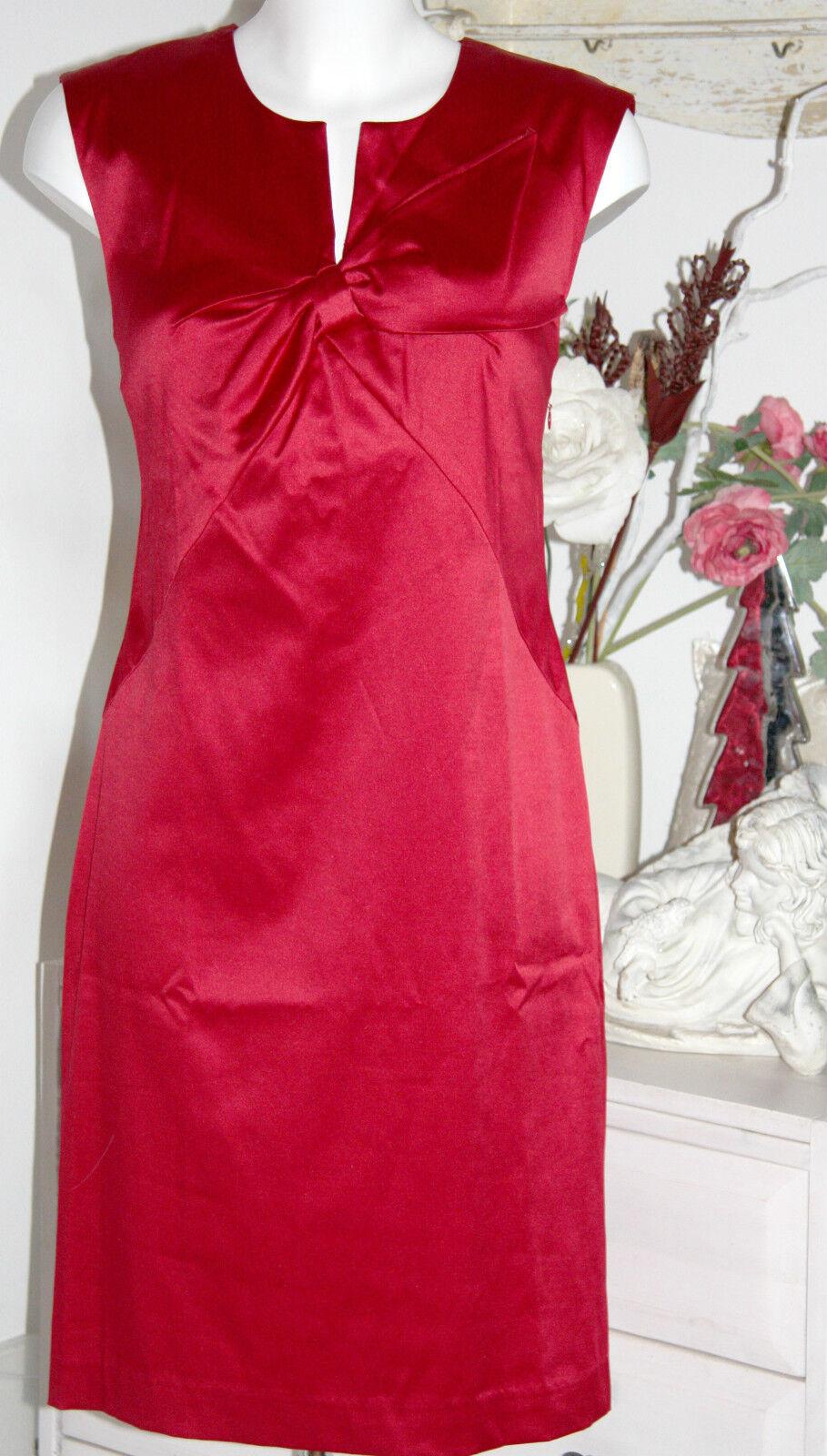 InWear Kleid Dress Etuikleid Dress rot Rhobee Größe  40 Neu