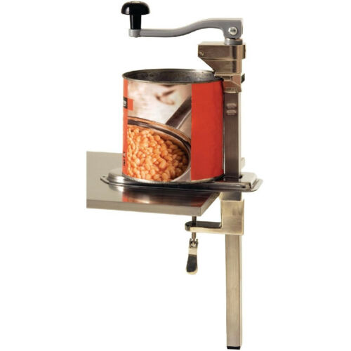 Vogue CE038 Bench Can Opener 20In 530X100X260mm Restaurant Commercial Tin Opener