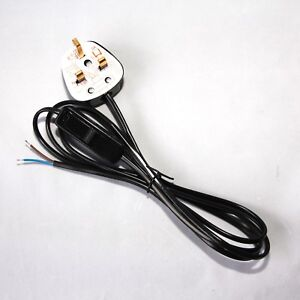 Cool Cable With Inline Switch And Plug Readymade Lighting Power Lead Free Wiring Database Cominyuccorg