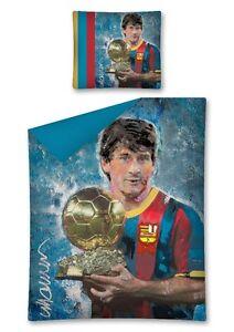 Messi-Fussball-Fan-Bettwaesche-Bed-Linen-Football