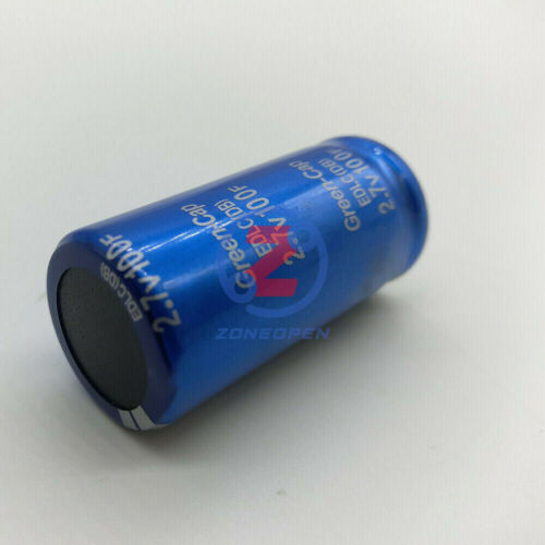 2.7V 100F//500F//3000F LOW ERS Radial Electrolytic Super Capacitor Capacitance