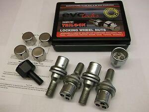 Locking-Wheel-Nuts-Fit-Citroen-C2-C3-C3-Picasso-C4-Cactus-amp-Picasso-C5-PE1219
