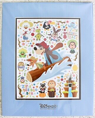2019 Disney D23 Expo Cute Caballeros Deluxe Print by Jerrod Maruyama LE 100