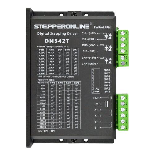 4 Axis CNC Kit 3Nm Nema 23 Stepper Motor /& DM542T Driver Plasma CNC Mill Router