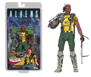 """NECA ALIENS Space Marine vos gueules Kenner hommage 7/"""" Action Figure Series 13 Authentique"""