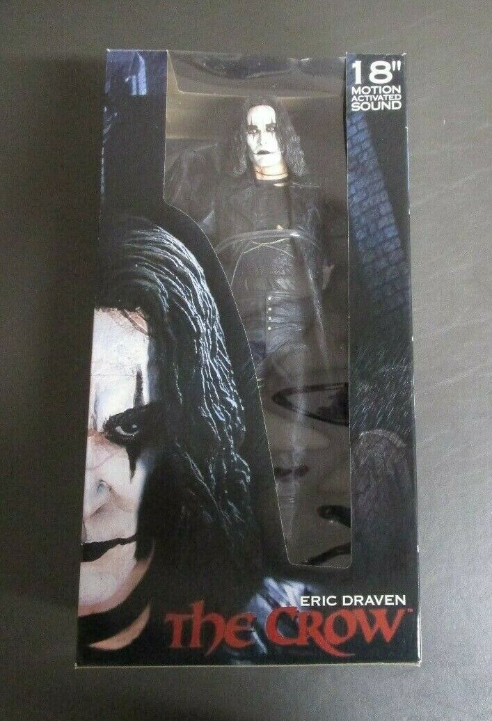 The Crow 18  Eric Draven 2004 REEL TOYS NECA Motion Activated Comme neuf IN BOX GV