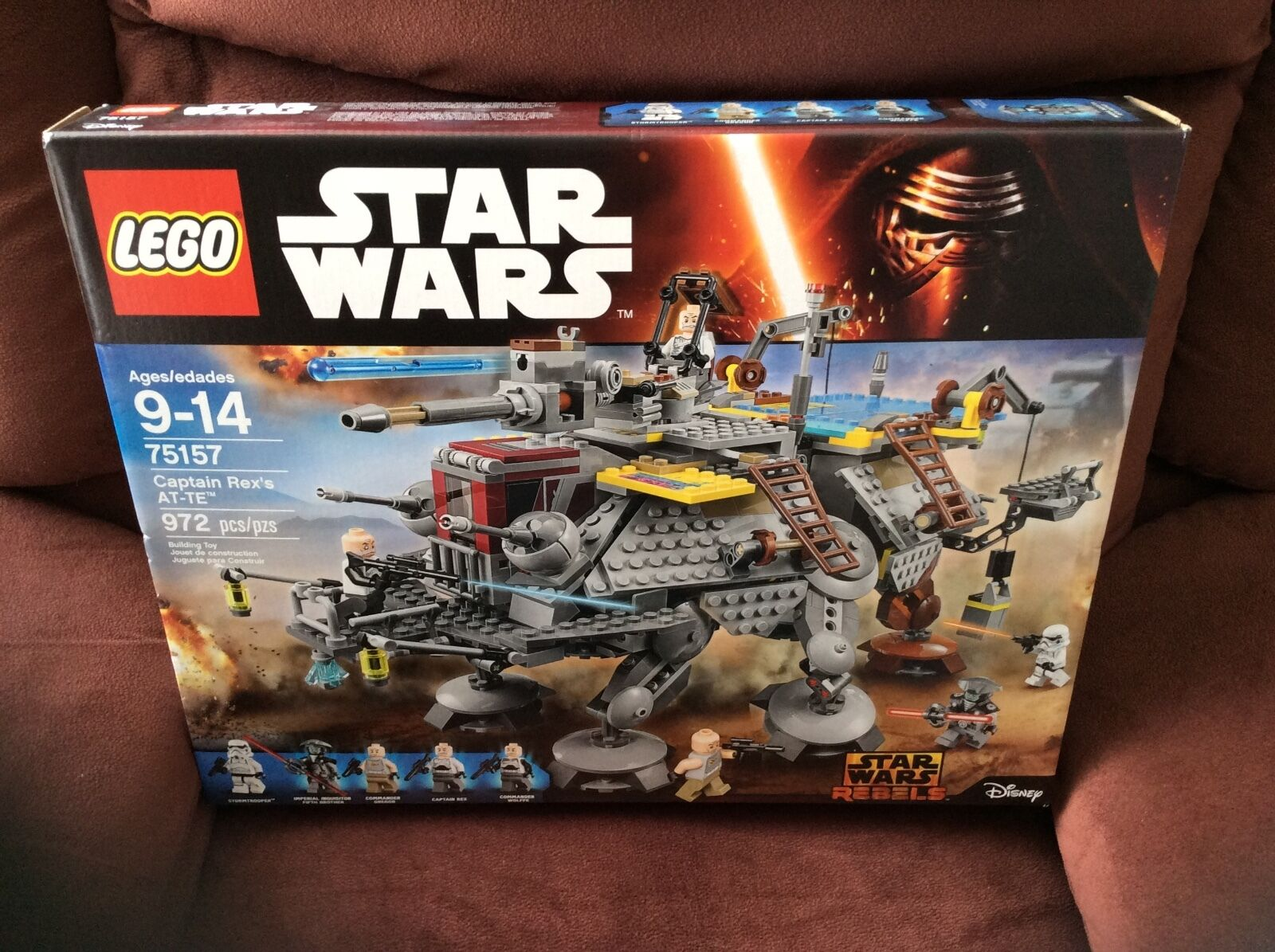 2016 2016 2016 LEGO STAR WARS CAPTAIN REX'S AT-TE (972) PIECES (5) MINI FIGURES NEW aee78e