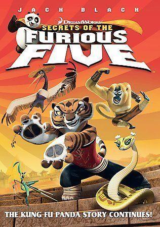 Kung Fu Panda Secrets Of The Furious Five Dvd 2008 2 Disc Set Widescreen Back To Back Packaging Sensormatic For Sale Online Ebay