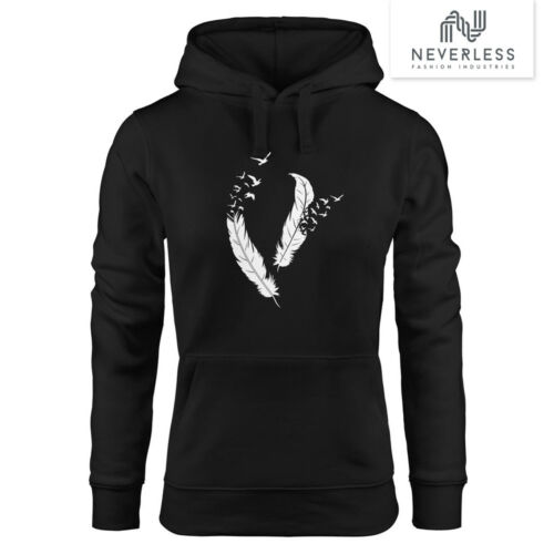 Hoodie Donna MOLLA uccelli neverless ®