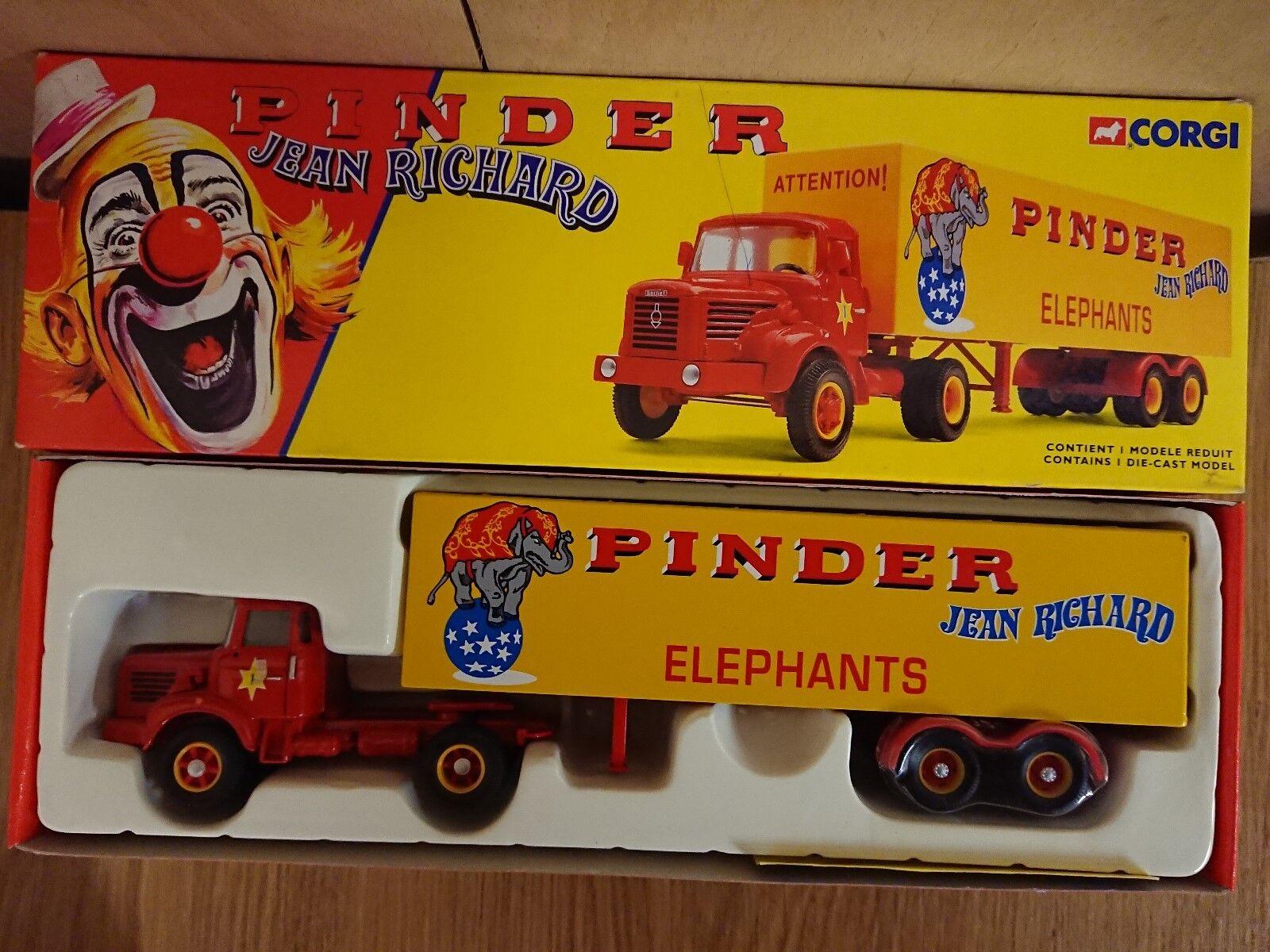 grandi prezzi scontati Corgi 70101 Pinder J. J. J. Riautod Circus Berliet TLR Semi Fourgon Ltd Ed 0005 of 4400  all'ingrosso a buon mercato