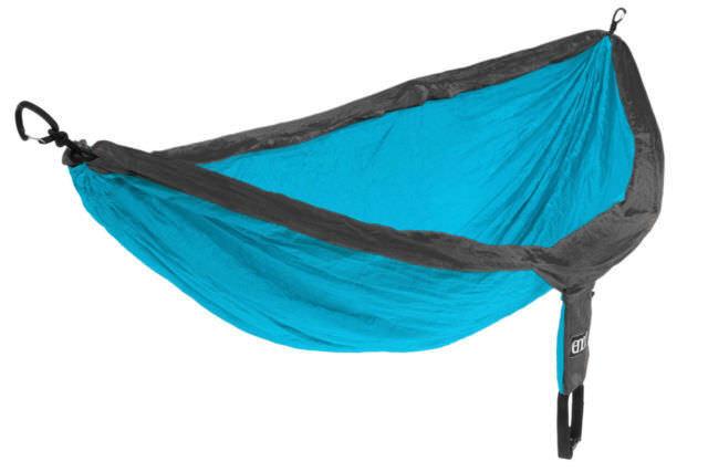 Eno Eagle Nest Outfitters lugar paracaídas Hamaca verde Azulado Carbón