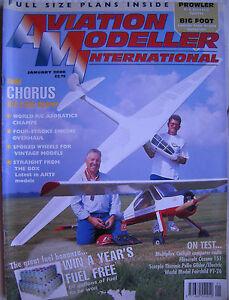 Luftfahrt-Modeller-International-Januar-2000-Komplett-Mit-Unbenutz-Plan