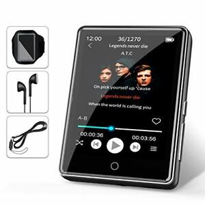 """32go mp3 player jbhoo 2.8"""" bluetooth 5.0 mp3 player mp3 player sport with..."""