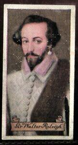 Tobacco-Card-Carreras-CELEBRITIES-OF-BRITISH-HISTORY-1935-Sir-Walter-Raleigh-10
