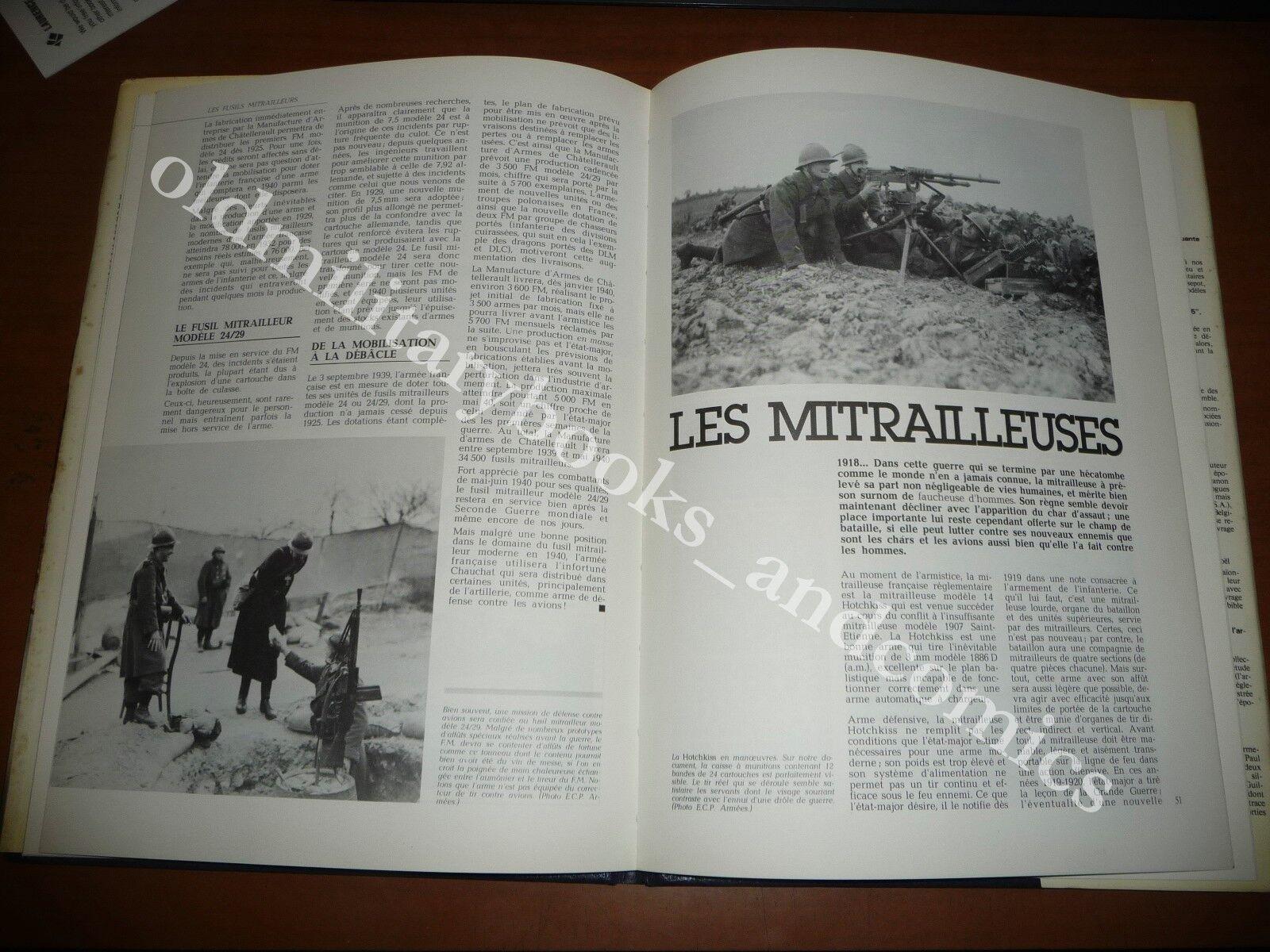 L'ARMAMENT DE L'INFANTERIE FRANCAISE 1918-1940 FERRAND 1979 ARMI WWII