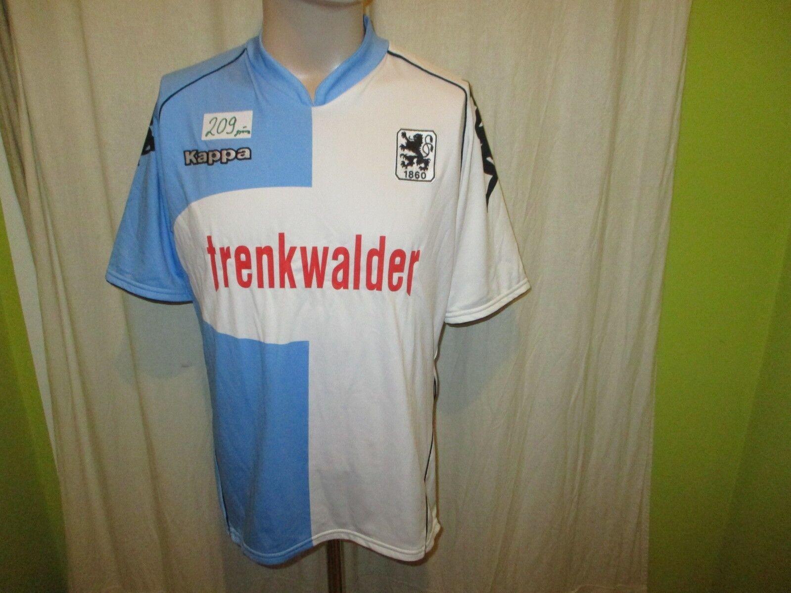TSV 1860 München Original Kappa Heim Trikot 2007 08  trenkwalder  + Nr.3 Gr.L  | Elegant