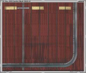 Complexé Eduard 1/72 Usn Carrier Deck 1943-44 # 73416-afficher Le Titre D'origine Douceur AgréAble