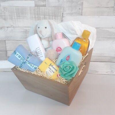 Baby Boy Hamper Gift Basket Baby Shower Present