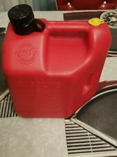 Vtg Blitz 2 Gal 8oz Pre Ban Vented Plastic Gas Can 11810 Pull N Pour Vintage
