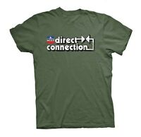 Mopar Direct Connection Men's Military Green Tee Shirt
