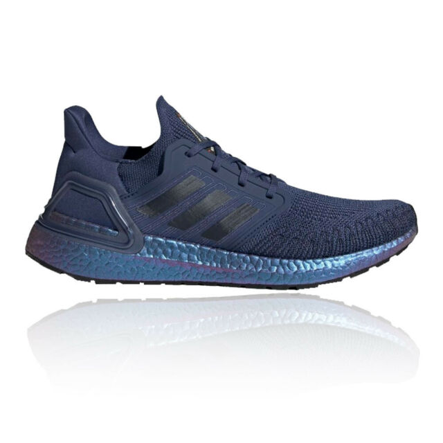 adidas Mens Ultra Boost 20 Running Shoes Trainers Sneakers Navy Blue Sports
