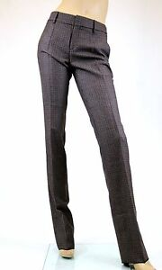 For Love /& Lemons Femme Authentique Classique Pantalon Noir Taille L