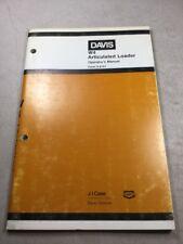 Davis W4 Articulated Loader Operators Manual