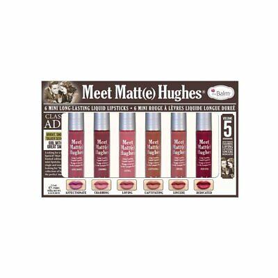 theBalm Cosmetics Meet Matte Huges Vol. 5( 6 Mini Long Lasting Liquid Lipsticks) | eBay