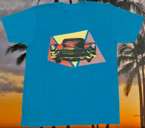 L XL Vicious Attack Retro Cadillac 100/% cotton graphic tee  M