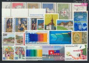 Liechtenstein-1165-1189-kompl-Ausg-Jahrgang-1998-komplett-postfrisch-1998-Kun