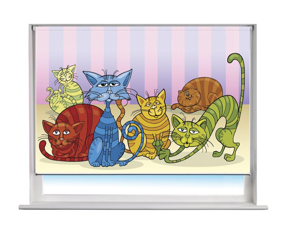 Cartoon Cartoon Cartoon chats enfants imprimé photo store toute taille 174813