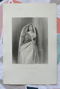 Belle Gravure XIXème - La Femme Adultère - Gustave Staal - W.H Mote M0PzHiO3-08043702-183153064