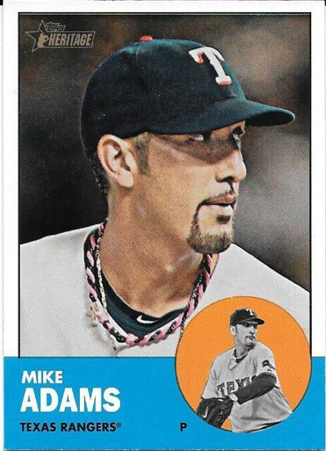 2012 Topps Heritage #352 MIKE ADAMS