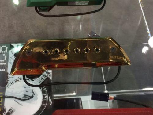 Oro Acoustic Guitar Pickup Bajo Sexto or Bajo Quinto EMG ACS Bajo Gold